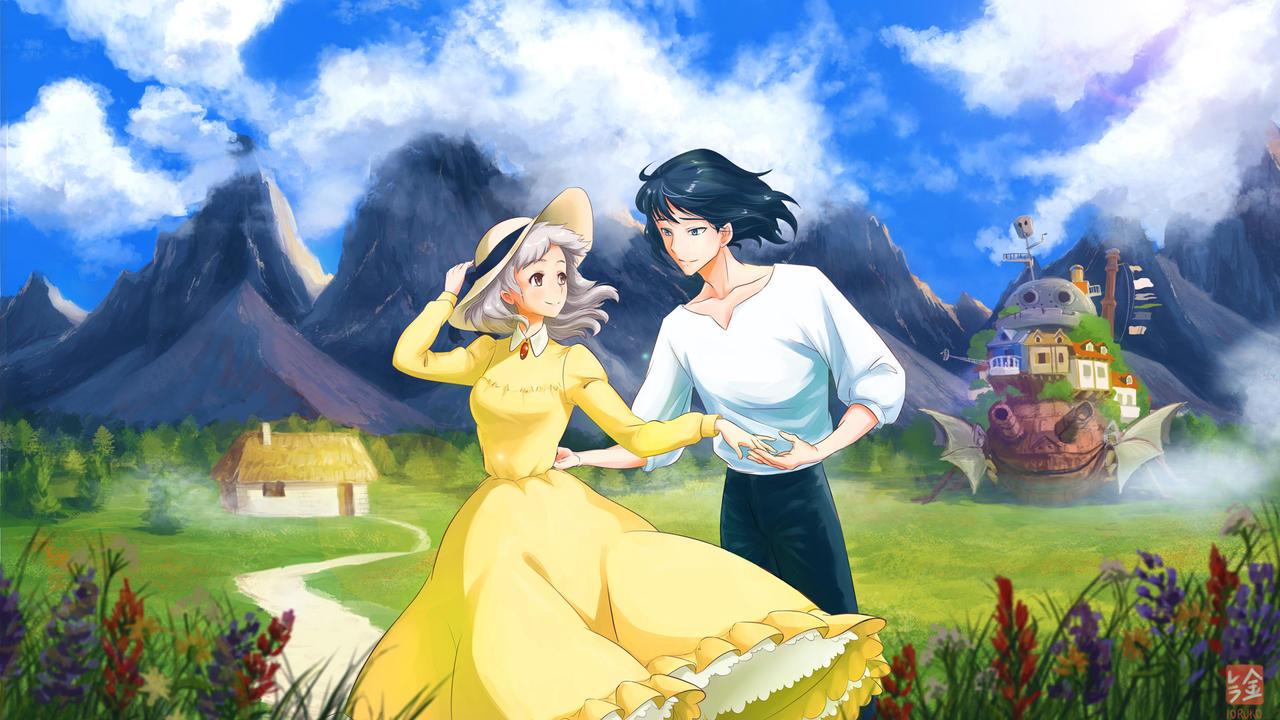 Howl's Moving Castle Fan Art By Ioruko On DeviantArt