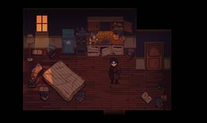 Viktor's room