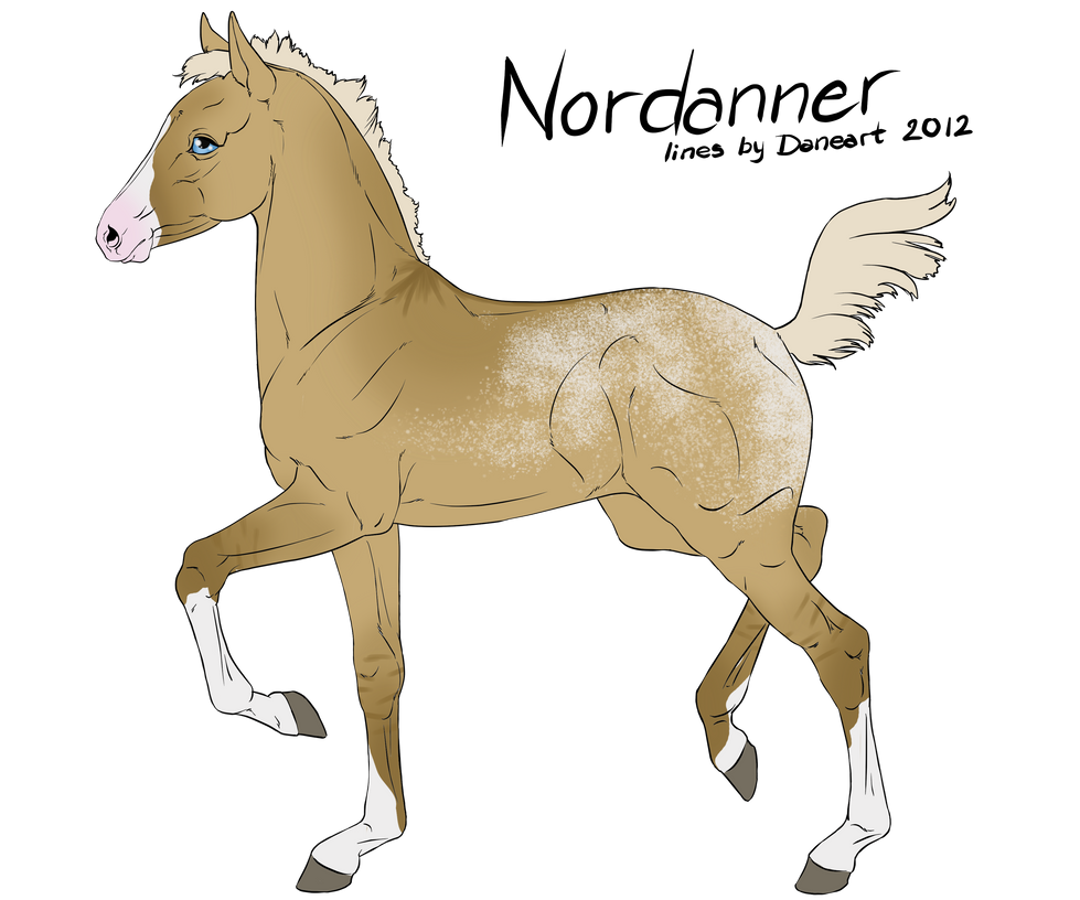 #3447 Nordanner Foal Design by catpuccinos
