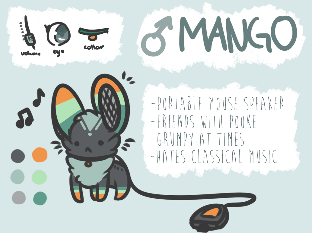 Mango Ref by catpuccinos
