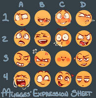 expression meme by moonlightartistry