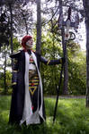 Eldar cosplay: Not all those who wander are lost