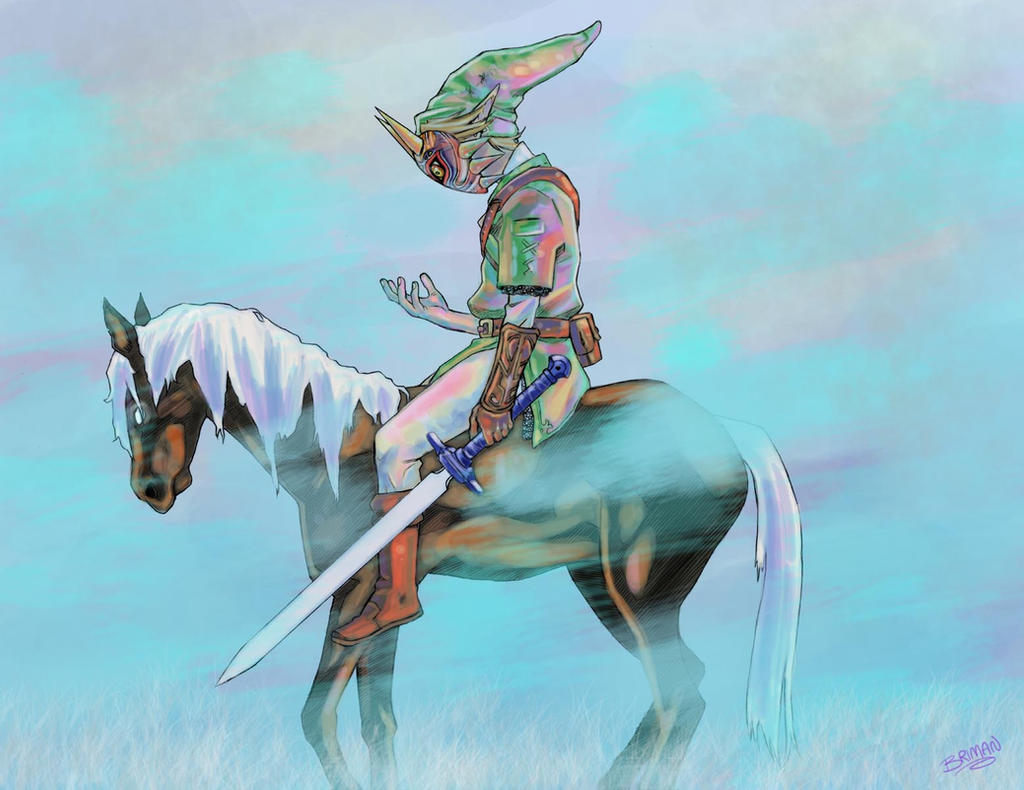 Majora's Mask: Evil Link by theonlybriman47