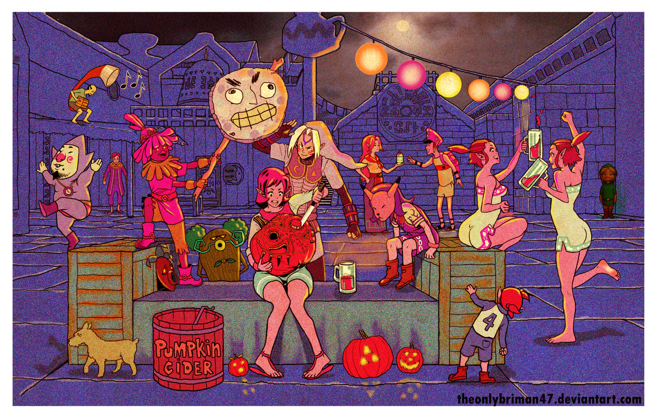 Majora's Mask Halloween by theonlybriman47 on DeviantArt