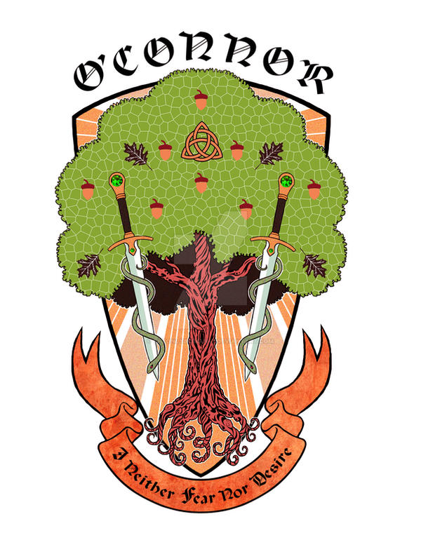 GOT O'Connor Family Sigil (My Redesign) by theonlybriman47