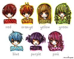 rainbow :D by mushomusho