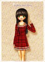tartan lace by mushomusho