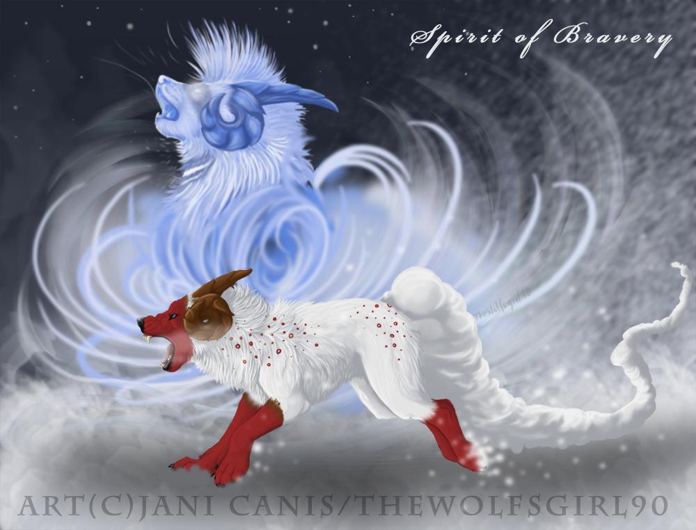 Spirit of Bravery by TheWolfsgirl90