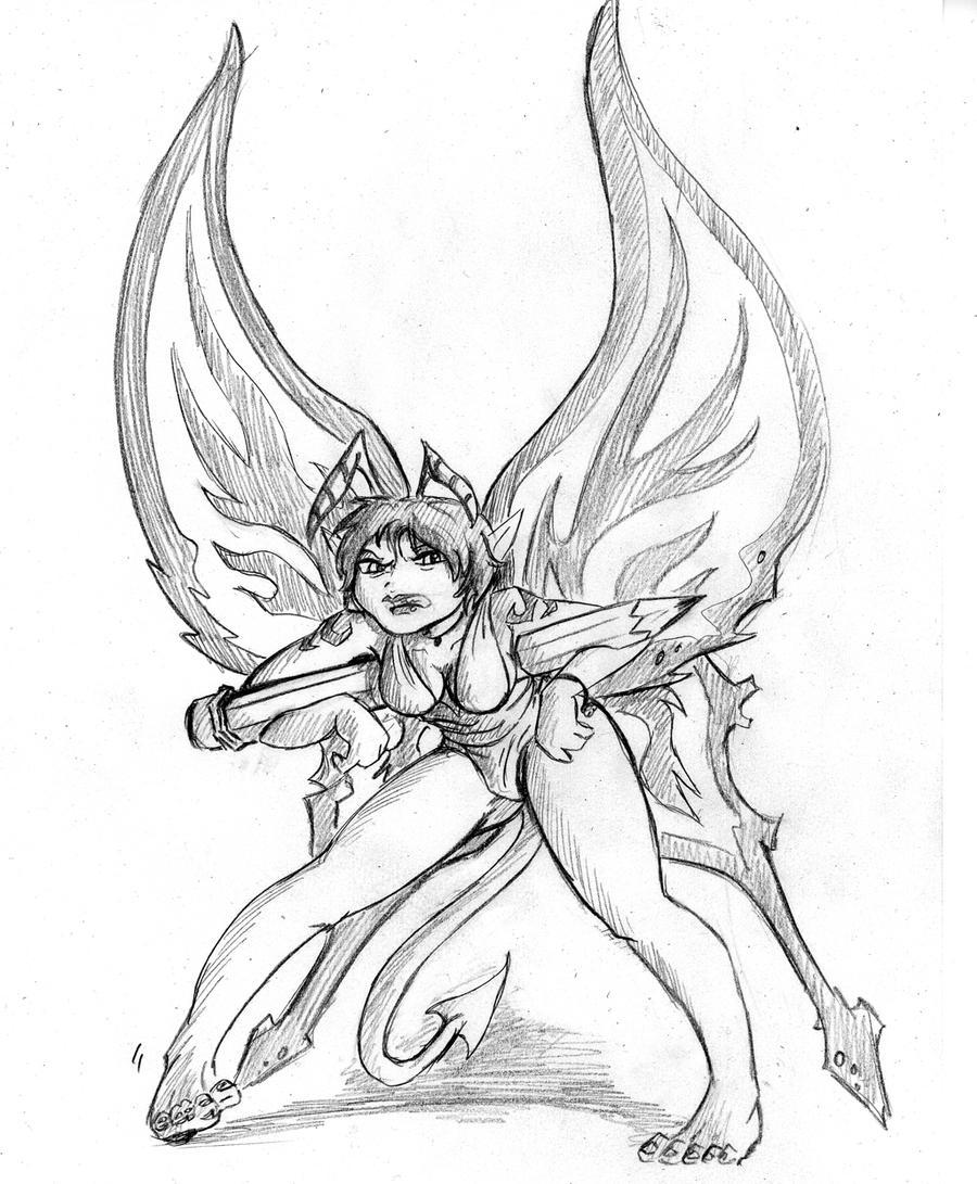 evil fairy by trisk-7 on DeviantArt