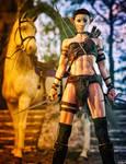Elfish Warrior Lady