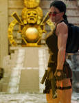Lara Croft and the Mayan Temple