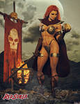 Red Sonja - The Skull by Hubby72