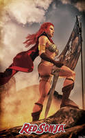 RedSonja - From Above by Hubby72