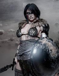 Fia - A portrait of a warrior