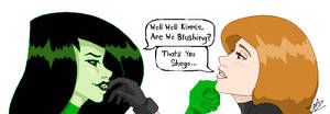 Are you blushing...