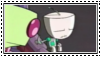 GIR-Talk to the hand Stamp by Invader-Phantom