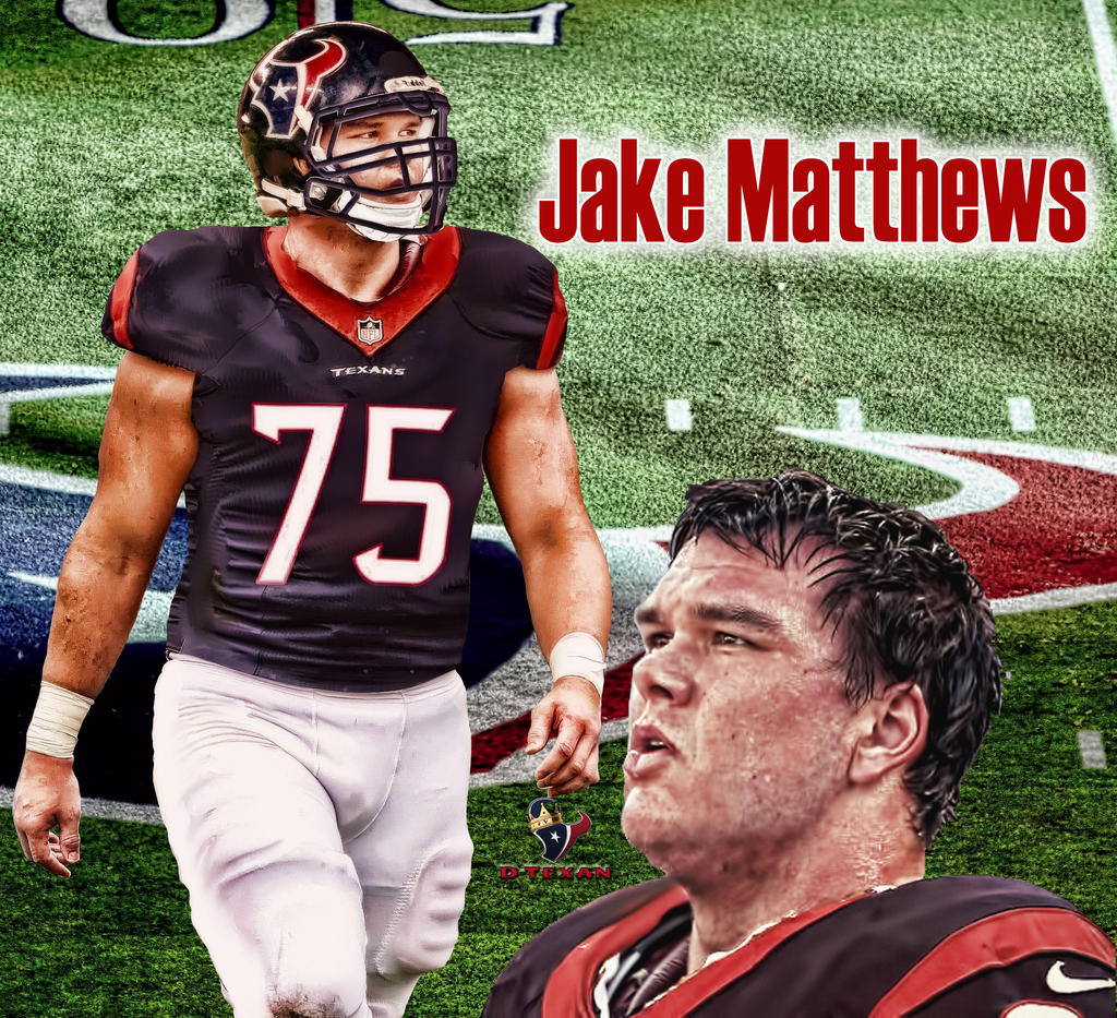 Texans Jersey Swap Jake Matthews by dtexanz on DeviantArt