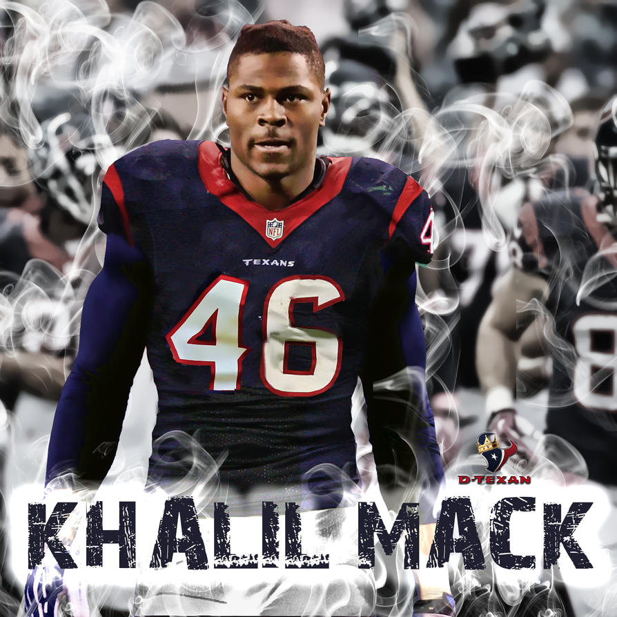 Texans Jersey Swap Khalil Mack by dtexanz on DeviantArt