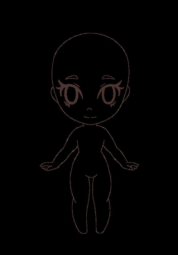F2u Female Chibi Base By Cannibalchibi Chan On Deviantart Human body base mesh 3d model. f2u female chibi base by cannibalchibi
