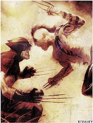 Daken Vs Wolverine by CaptainCarisma