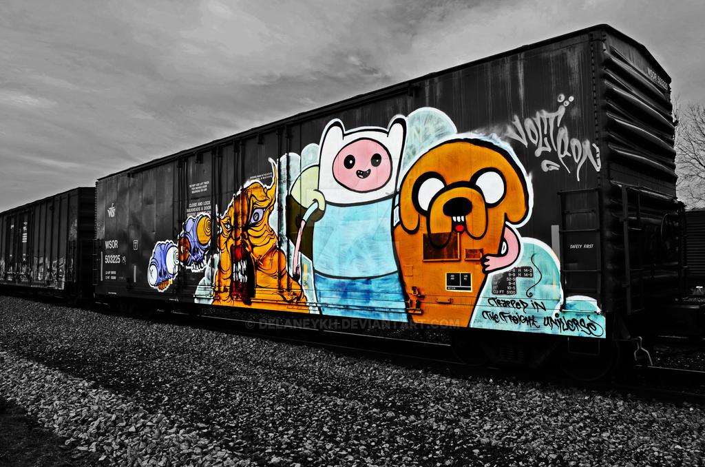 Adventure Time Traincar by DelaneyKH