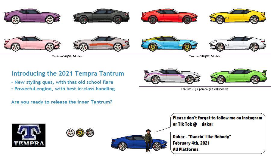 2021 Tempra Tantrum