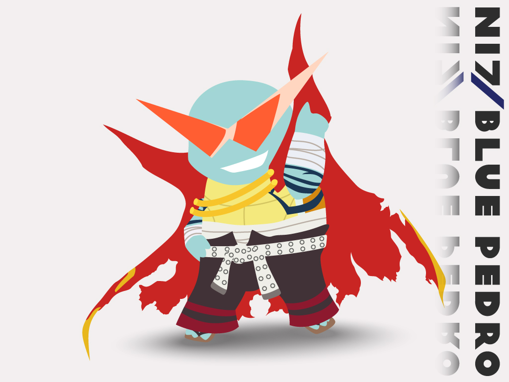 Kamina Squirtle by BluePedro