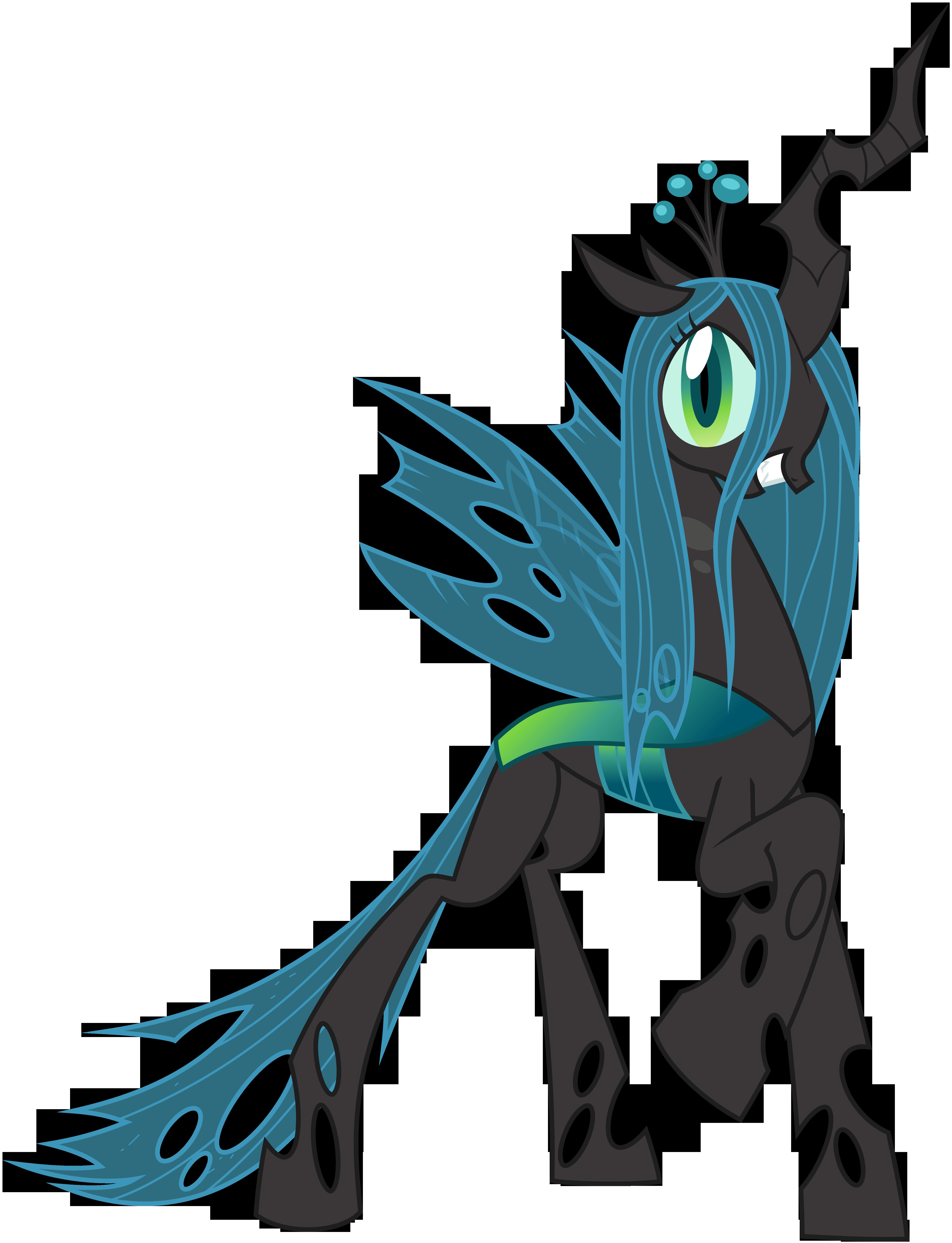 Queen Chrysalis Vector by BluePedro on DeviantArt