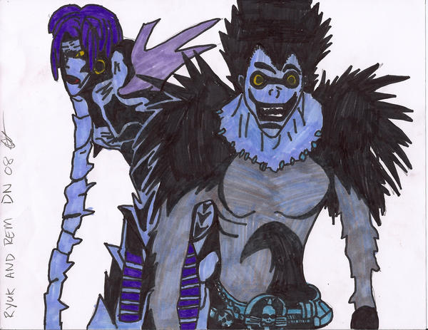 death note rem and ryuk - photo #3