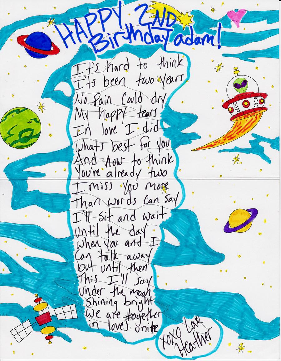 Birthday poem by raheheul on deviantart 2nd birthday poem by raheheul 2nd birthday poem by raheheul bookmarktalkfo Gallery