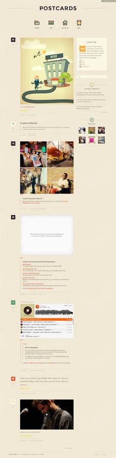 Premium Retro Tumblr Theme