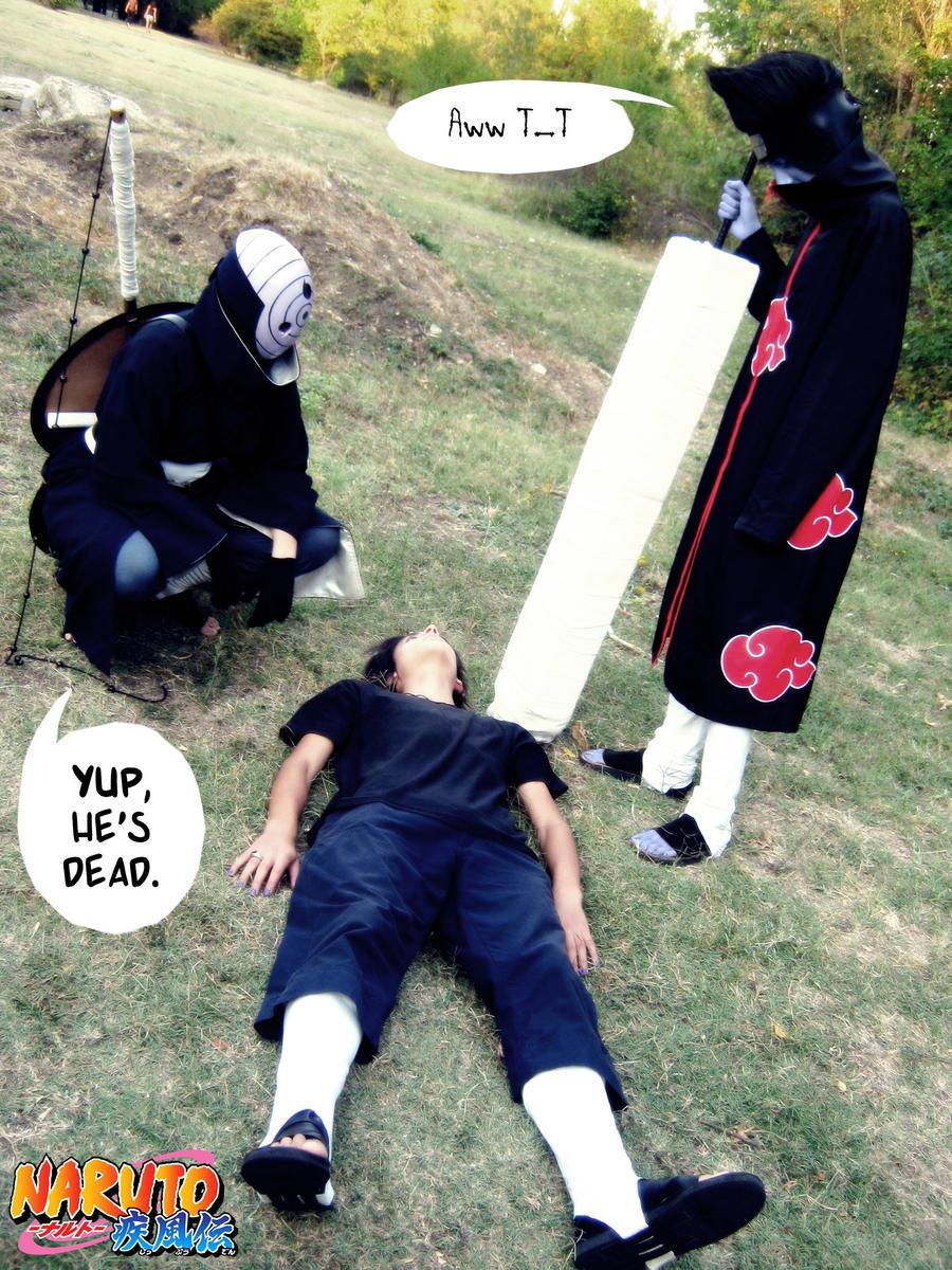 He's dead by GaaraxSakurafan