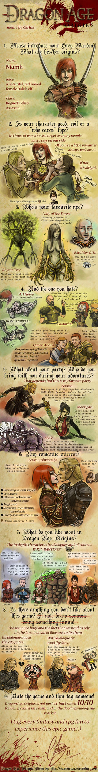 Dragon Age meme - spoilers by AniHime