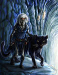 Concept of Drizzt by AniHime