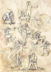 Dance sketch #3