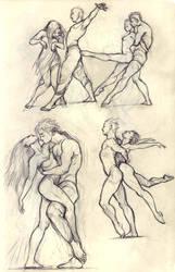Dance sketch #4