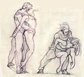 Dance sketch #5