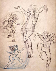 Dance sketch #7