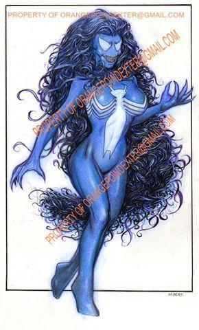 She-Venom Kuettner Commission by Faltain