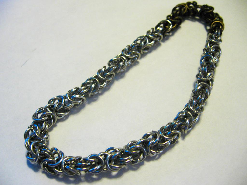 byzantine chainmail bracelet by TheMim