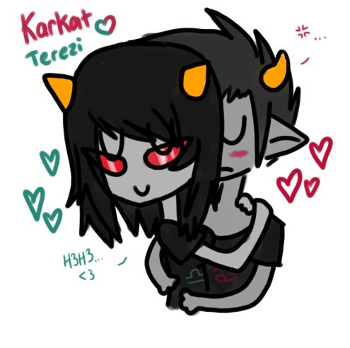 Karkat And Terezi Karkat and Tere...