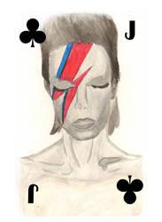 Bowie Jack Card by Katamarigoround