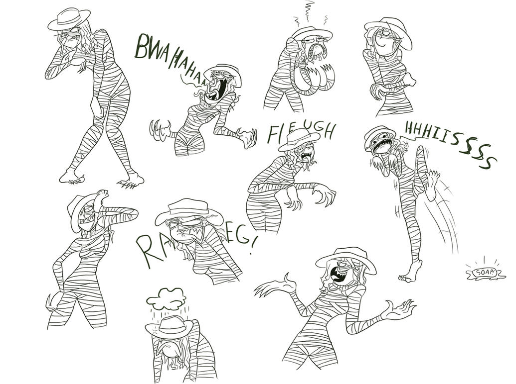 Point Commish: Virulent Doodles by Drakithu