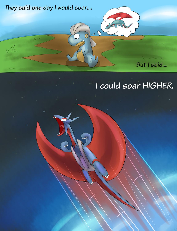 Mega Salamence Does it Again : pokemon