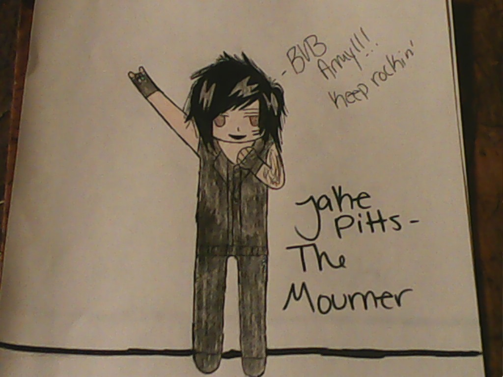 Jake pitts the mourner