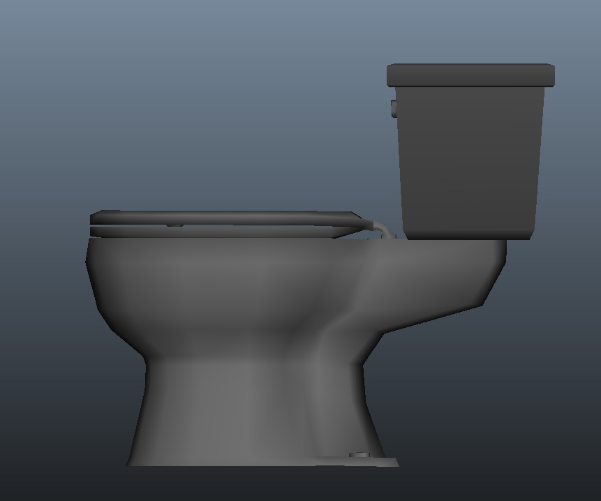 Toilet Side View By EvilHayato On DeviantArt