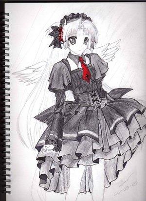 Anime Princess Drawing By BrokenWrites On DeviantArt