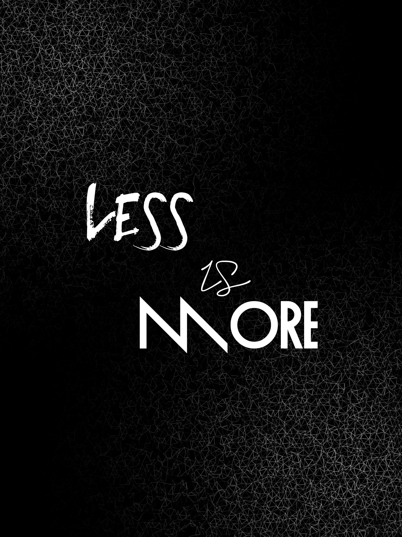 Less Is More Ipad Wallpaper 97 By Designsbluemoon On Deviantart