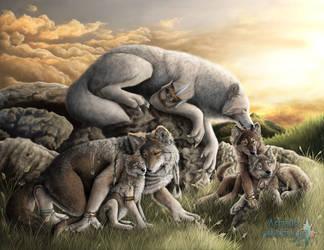 Werewolves by Astaiir