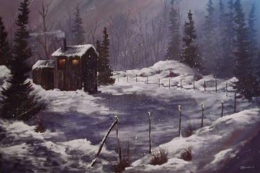 Winter Retreat by artsyone39